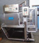 IPS Automatic Shrink Bundler and Heat Tunnel, Model Shrinkbundler 1M 15S, S/N 06P2056/K5305