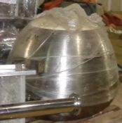 Stainless Steel Coating Pan, bowl only, no base