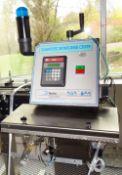 Automate Diagnostic Inspection Machine for cap testing verification, Model AM-DP, S/N D5769