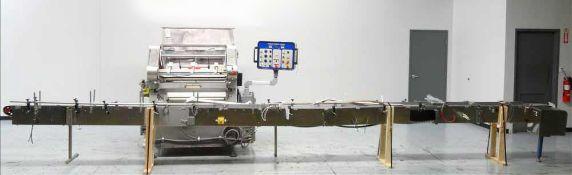 Merrill Model 72-39 ADH Dual Lane Slat Counter