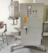 Collette High Shear Granulator , Model Gral 25, S/N 96GRI-00250063