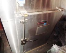 Gruenberg Single Door Electrically Heated Tray Drying Oven, Model C0811XP19.25SS, S/N 26481