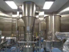 Gansons 300 Liter Fluid Bed Dryer, Model GFBPC300, S/N 59, new 2013