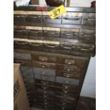 27-DRAWER & 18-DRAWER PARTS CABINETS