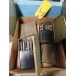DRILL INDEX BOXES