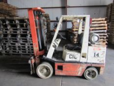 Nissan Forklift, 5000 LBS CAPACITY, MODEL KCUSHO2F35PV