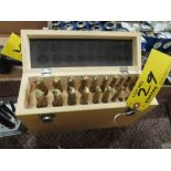 TIN COATED END MILL SET