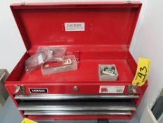 HOMAK 3-DRAWER TOOL BOX