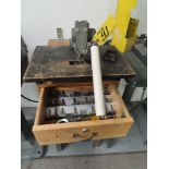 HEINRICH TOOLS MDL. 6 SINGLE END PUNCH WITH STAND