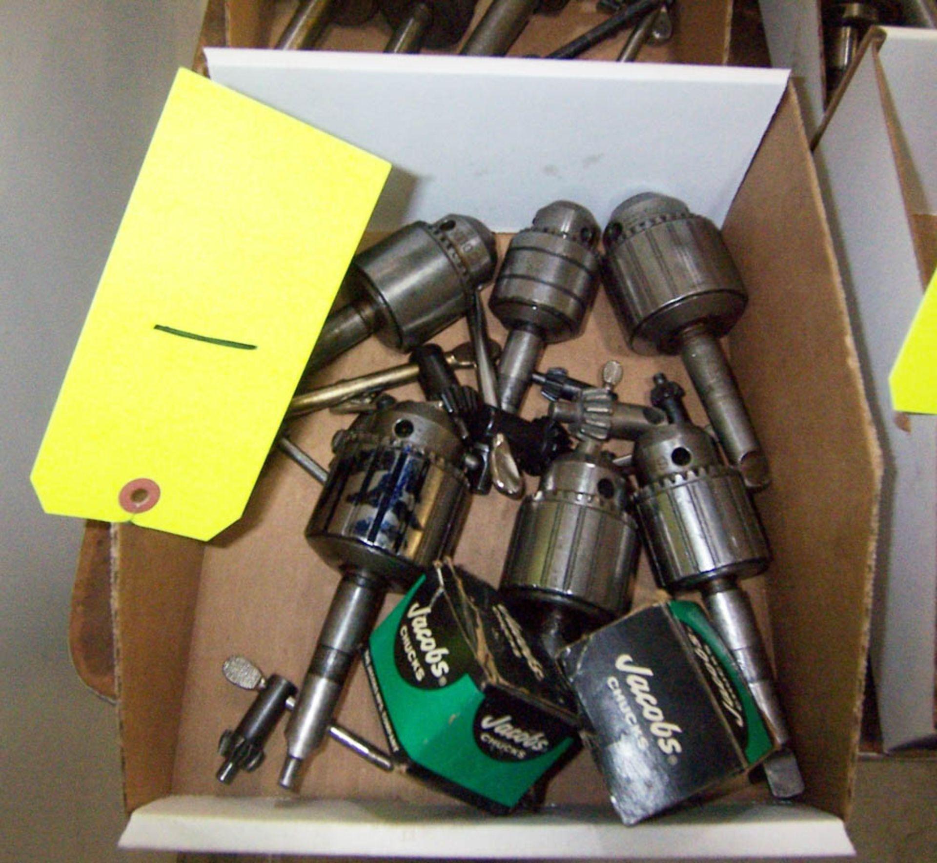 Lot 1 - [6] ASSORTED DRILL CHUCKS