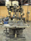 "CHAS G. ALLEN 16"" 3-COLUMN DRILL PRESS OPERATION, 14"" X 46 1/2"" WORK SURFACE, S/N:'S N/A"