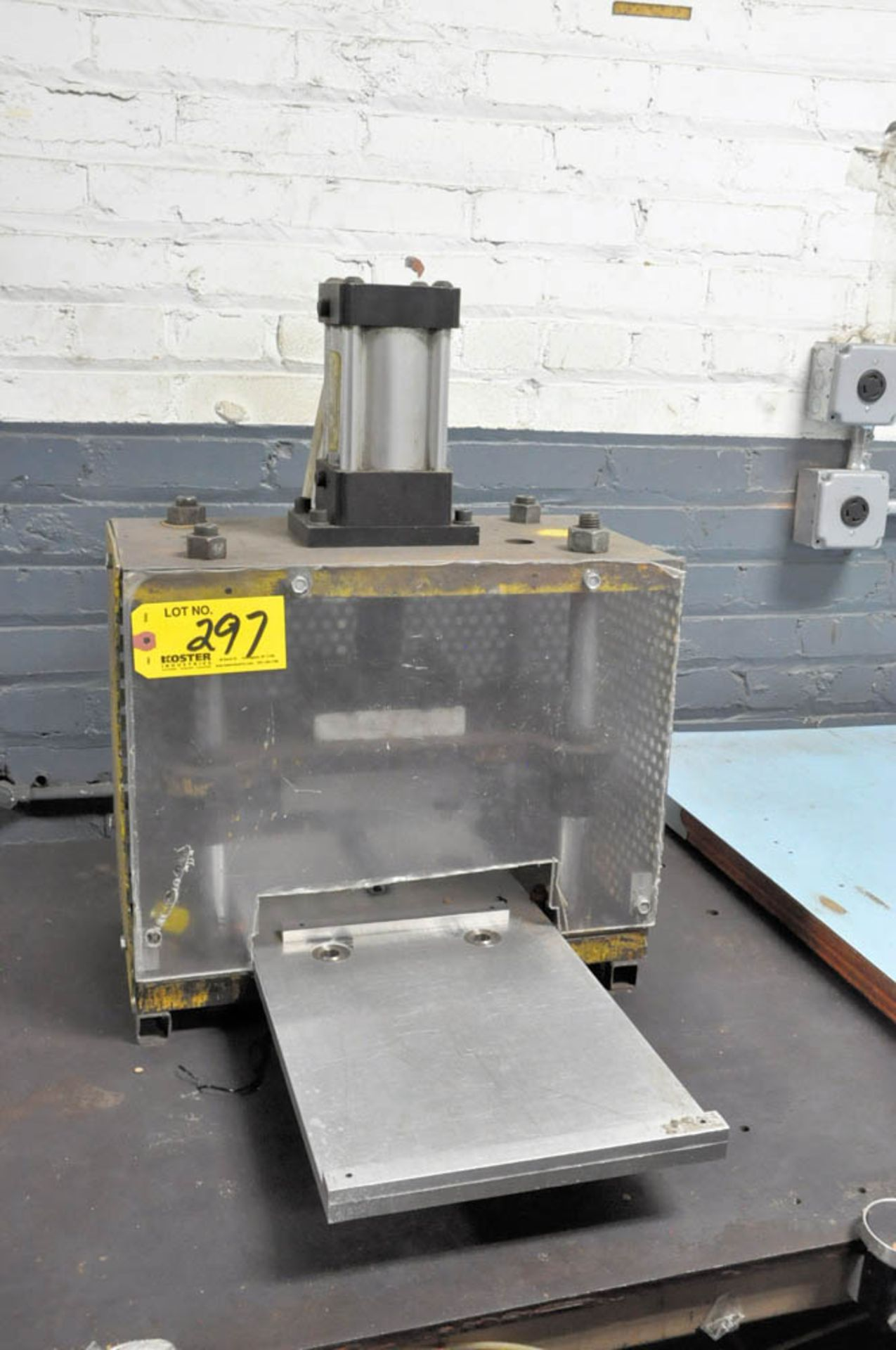 Lot 297 - BENCH TOP ASSEMBLY PRESS OPERATION WITH STAND