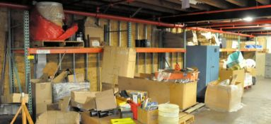 "(6) SECTIONS 8' X 42"" X 84"" H PALLET RACKING, (CONTENTS NOT INCLUDED)"