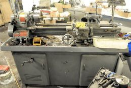 "SOUTH BEND CAT. NO. CL187RR, BELT DRIVEN LATHE, 6"" 3-JAW CHUCK, STANDARD TOOL POST, TAIL STOCK,"