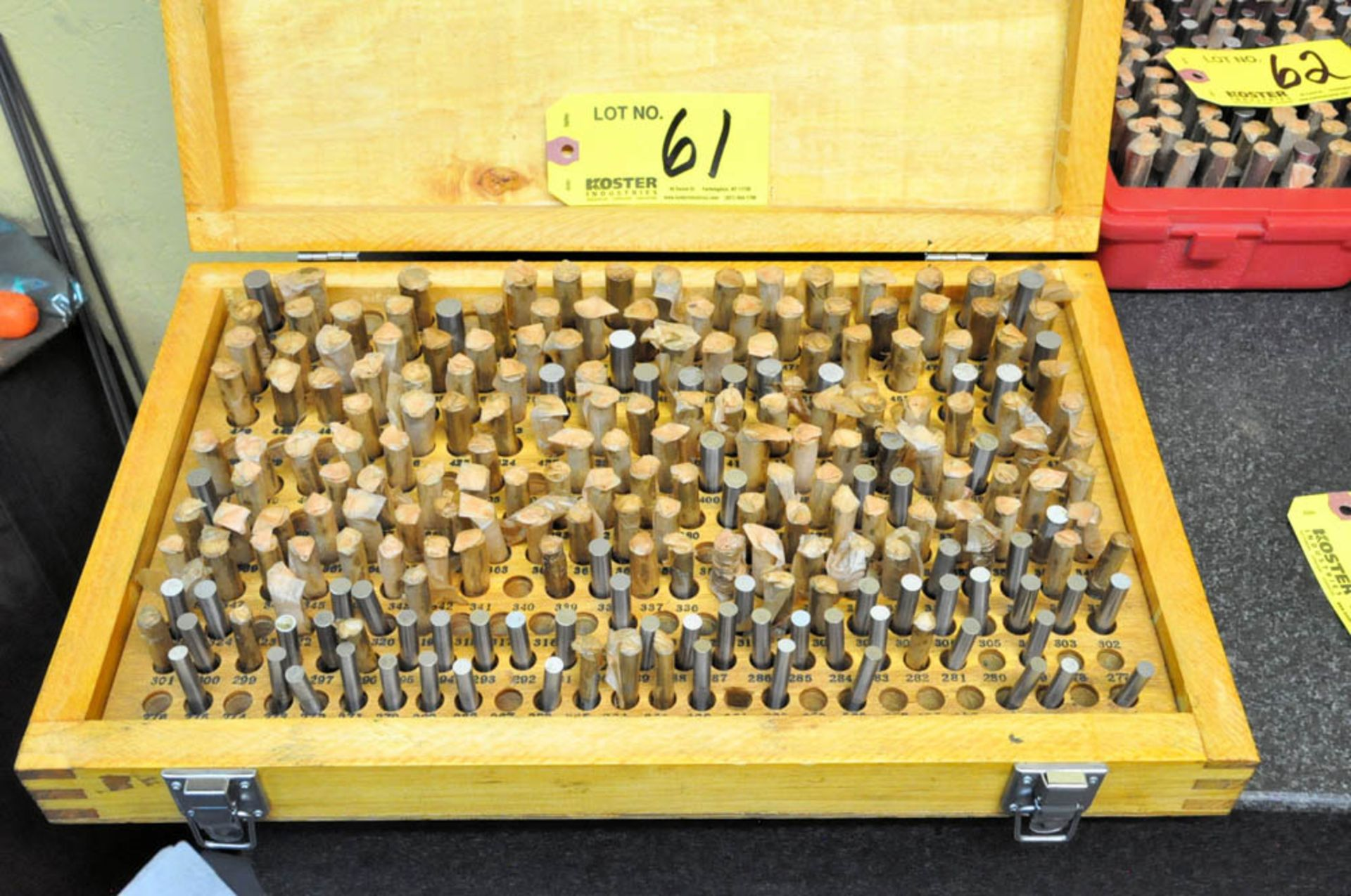 .251 - .500 PIN GAGE SET