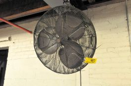POST MOUNTED SHOP FAN