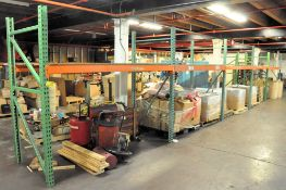 "(5) SECTIONS 8' X 42"" X 84"" H PALLET RACKING, (CONTENTS NOT INCLUDED)"