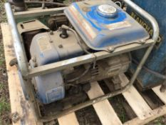 Yamaha Generator Not in Perfect Running Order.