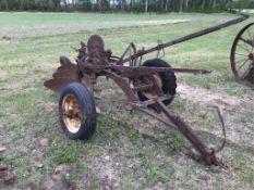 Antique 3-Bottom Plow