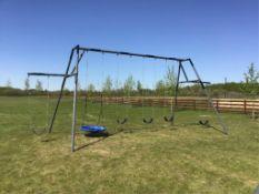 6-Seater Lawn Swing
