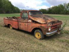 1965/66 Mercury100 Twin I Beam Pickup Truck No Eng
