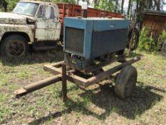Miller Big 40 Gas Welder W/Steel Framed Trailer, Pin Hitch