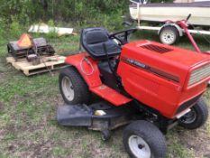Turf Power Plus Garden Tractor 18hp Eng, Mower & Tiller
