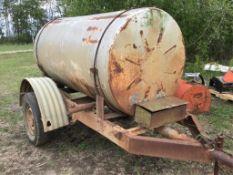 500g Water Tank on Tailer