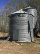 Westeel Rosco 1650bu 14' x 5-Ring Grain Bin Aeration in Floor