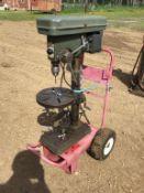 110V Drill Press on Cart