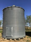 2000bu 14' x 6-Ring Grain Bin