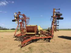 Leon 3000 36ft Cultivator w/Valmar Spreader s/n 107302 9in Spacing, Rear Hitch, Mounted Diamond