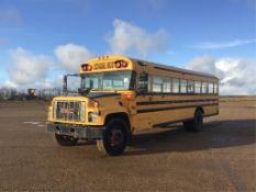 2000 GMC Blue Bird Bus (No Seats) VIN 1GDG7T1C5YJ517185 Diesel Eng, A/T