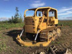 Caterpillar D7E Crawler Tractor s/n C51682 Rebuilt Power Shift Trans, Torque, Torque Pump, & Final