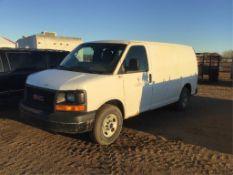 2010 GMC Savanna Cargo Van VIN 1GTZGFBG2A1160845