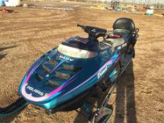 500 Polaris Indy Trail Touring Snowmobile VIN 3362331 Reverse, 2-Up Seat 6677 miles