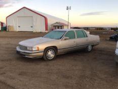 1995 Cadillac Concours 4-Door Car VIN 1G6KF52Y3SU208542 V8 4.6L Eng, A/T, 189,615km, Power Heated