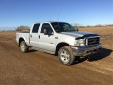 2003 Ford F350 Crew Cab 4x4 Pickup (Parts Only) VIN 1FTSW31PX3ED14038 Powerstroke V8 Turbo Diesel