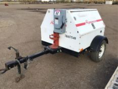 Magnum MLG8 10Kw Generator 6625hrs. Engine has some Knock.