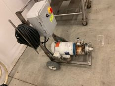 Portable S.S. Pump w/ electric motor