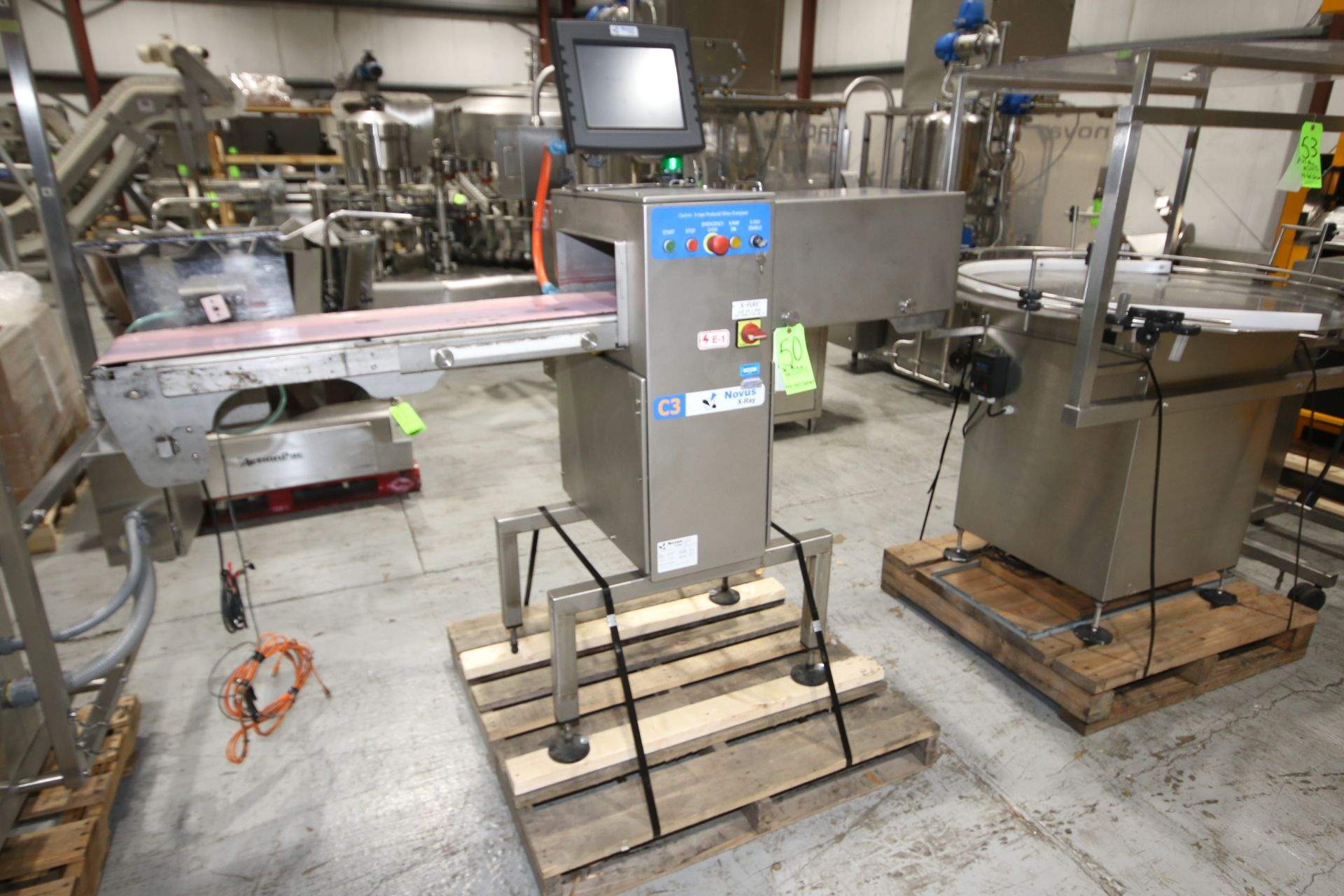 Lot 48 - BULK BID-LOT #49- #54 : INLINE FILLING SYSTEMS SMALL BOTTLE FILLING LINE, INCLUDING Inline Filling