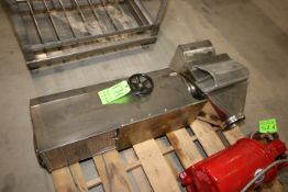 Alexanderwerk S/S Grinder, with S/S Chute & Hand Crank (LOCATED IN YOUNGSTOWN, OH) (Rigging,