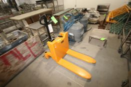 Manual Pallet Tilter, 1000 KG, with 800 mm Fork Length (LOCATED IN YOUNGSTOWN, OH) (Rigging,