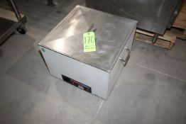 """FlavorSeal Circulating Water Bath, with S/S Lids, Internal Dims.: Aprox. 20"""" L x 20"""" W x 9"""" Deep ("""