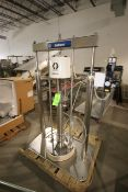 Graco S/S Barrel Pump, Series G13A, S/N 240708, Mounted on S/S Frame, with Additional S/S Graco Fast