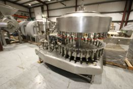 Federal 32 - Valve Rotary S/S Filler, SN 1152A328RA636, with 8 - Head Rotary Snap Capper, Set Up