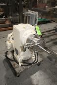 Votator Horizontal Mixer, M/N CR6, S/N 72 026V, with 5 hp Motor, 220/460 Volts, with S/S Square D