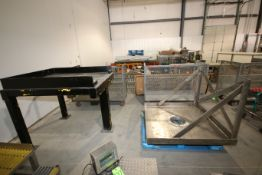 """S/S Framing with Stand, with Aprox. 10-1/2"""" Dia. Discharge Opening (LOCATED IN YOUNGSTOWN, OH) ("""