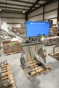 Inline Filling Systems Capper, S/N 33014, Mounted on S/S Portable Frame (LOCATED @ M. DAVIS GROUP