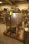 Cherry-Burrell Aprox. 250 Gal. S/S Cone Bottom Processor, with S/S Sweep Agitation, Internal Tank